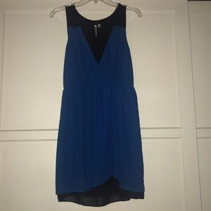 Petticoat Alley Women's dress blue and black M 8